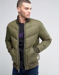 Стеганая куртка-пилот Penfield Vanleer - Зеленый