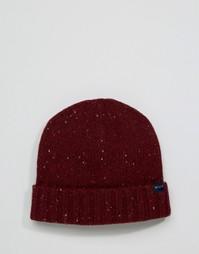 Красная шапка-бини из овечьей шерсти Jack Wills - Красный