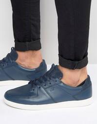 Кожаные кроссовки Boxfresh Cladd - Синий