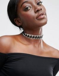 Ожерелье-чокер Suzywan Halloween Witch - Черный