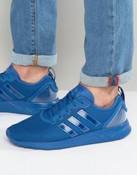 Кроссовки Adidas Originals Zx Flux Adv - Синий