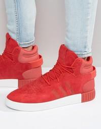 Кроссовки Adidas Originals Tubular Invader - Красный