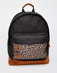 Рюкзак с леопардовым узором Mi-Pac - Черный