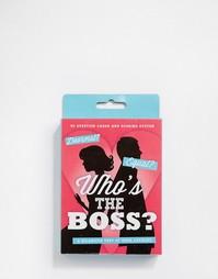Игра-викторина 50Fifty Whos the Boss - Мульти