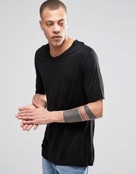 Черная футболка Weekday Jarmo - Черный