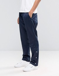 Темно-синие спортивные штаны Weekday WCT - Темно-синий