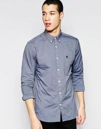Оксфордская рубашка классического кроя Selected Homme - Синий