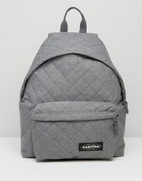 Серый стеганый рюкзак Eastpak - Серый