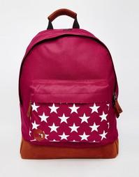 Бордовый рюкзак со звездами Mi-Pac - Красный