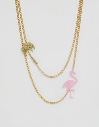 Ожерелье в несколько рядов Suzywan Summer Fun - Золотой