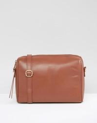 Строгая сумка через плечо Urbancode - Коричневый