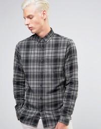 Рубашка в клетку Troy - Серый