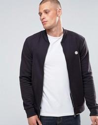 Трикотажная куртка-пилот Le Breve - Черный