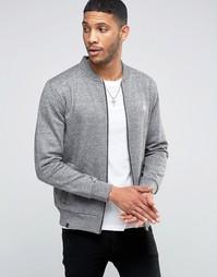 Трикотажная куртка-пилот Le Breve - Серый