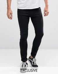 Супероблегающие джинсы Reclaimed Vintage - Черный