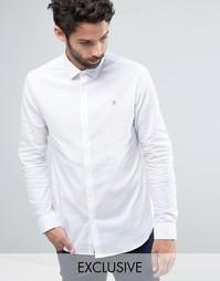 Классическая узкая рубашка стретч Farah - Белый