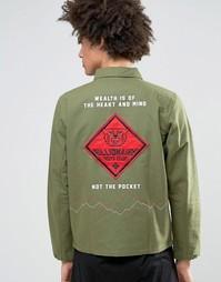 Рубашка навыпуск классического кроя Billionaire Boys Club - Зеленый
