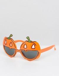 Очки с отделкой в виде тыквы NPW Halloween - Мульти