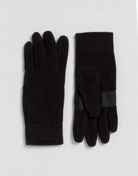 Черные перчатки Patagonia Micro D - Черный
