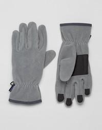 Серые перчатки Patagonia Synchilla - Серый