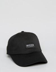 Черная бейсболка Nicce - Черный