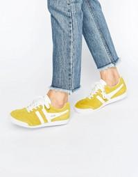 Желтые кроссовки Gola Classic Harrier - Желтый