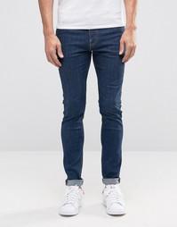 Супероблегающие джинсы Weekday Form Sun - Синий