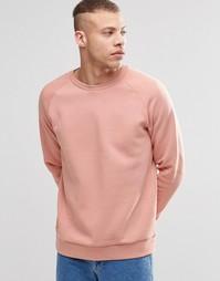 Свитшот Weekday Paris - Розовый