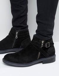Ботинки с пряжкой Rule London - Черный