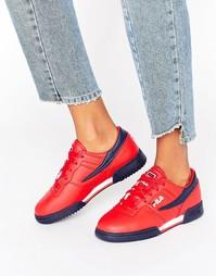 Красные кроссовки Fila Original Fitness - Красный