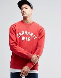 Свитшот с надписью Carhartt WIP - Красный