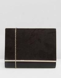 Клатч-конверт Lotus - Черный
