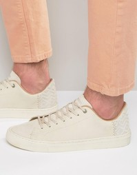 Кожаные кроссовки Toms Lenox - Белый