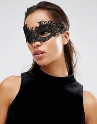 Кружевная маска Johnny Loves Rosie Halloween - Черный