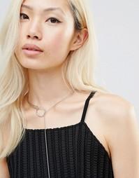 Ожерелье Ashiana - Серебряный