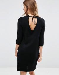 Платье с глубоким вырезом сзади Maison Scotch - Черный