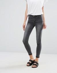 Серые джинсы скинни Vila - Серый
