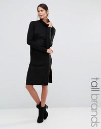Платье-водолазка с длинными рукавами Vero Moda Tall - Черный