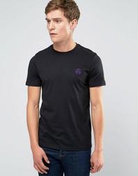 Черная футболка слим с логотипом PS Paul Smith - Черный