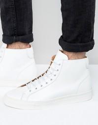 Белые высокие кроссовки Frank Wright Logan - Белый