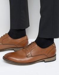 Кожаные оксфордские туфли Frank Wright Merton - Рыжий
