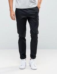 Черные брюки слим Paul Smith - Черный