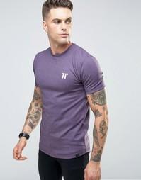 Футболка в крапинку 11 Degrees - Фиолетовый