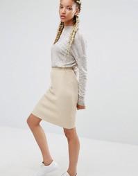 Облегающая юбка Pixie & Diamond - Stone