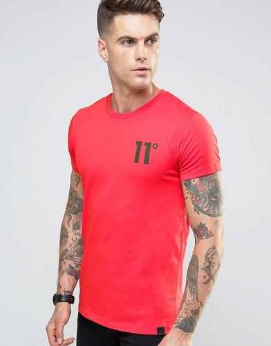 Футболка с логотипом 11 Degrees - Красный