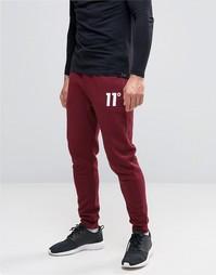 Зауженные спортивные штаны 11 Degrees - Красный