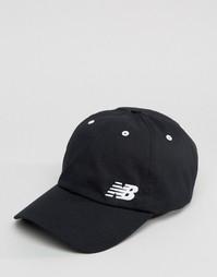 Черная кепка New Balance - Черный