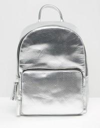 Рюкзак цвета металлик Skinnydip X Coke - Серебряный