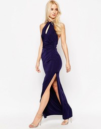 Платье макси Sistaglam Zena - Темно-синий