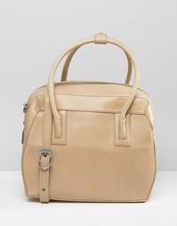 Структурированная сумка-тоут Matt & Nat - Бежевый